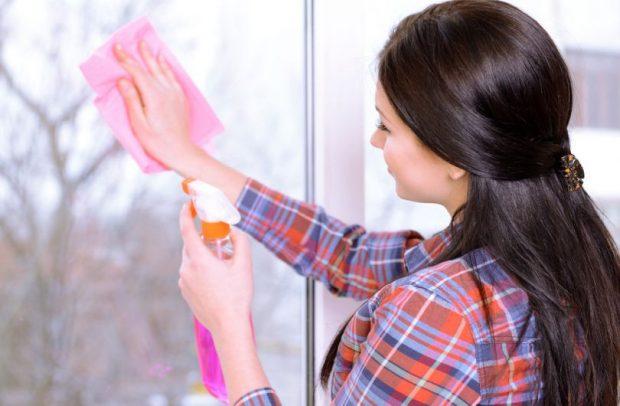почистваме прозорците